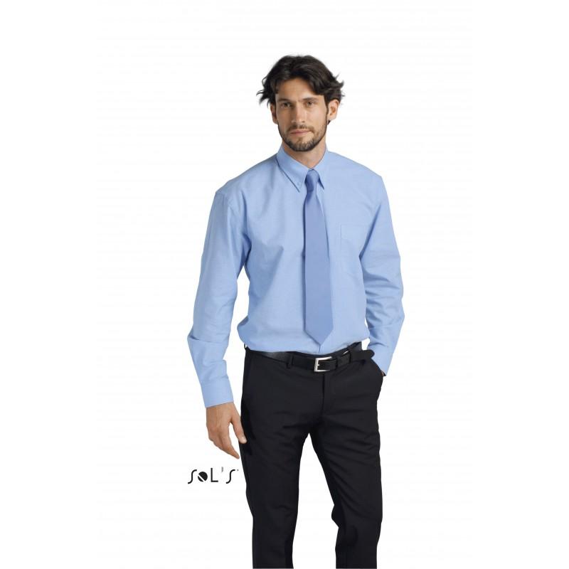Chemise publicitaire homme ML Boston - chemise publicitaire homme - produits incentive
