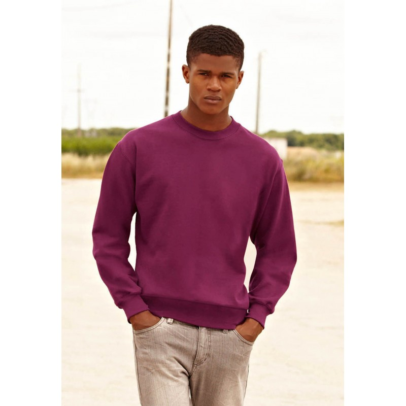Sweat-shirt homme à manches droites - Sweat-shirt sur mesure
