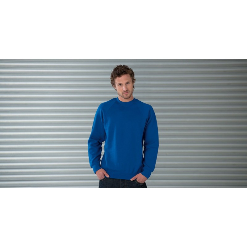 Sweat shirt à manches raglan Jerzees - Sweat-shirt publicitaire - objets promotionnels
