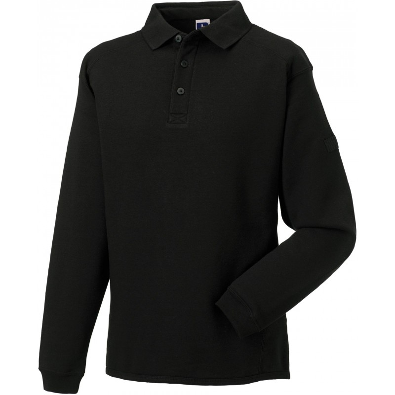 Sweat-shirt à col polo Workwear Russell - Sweat-shirt publicitaire - objets promotionnels