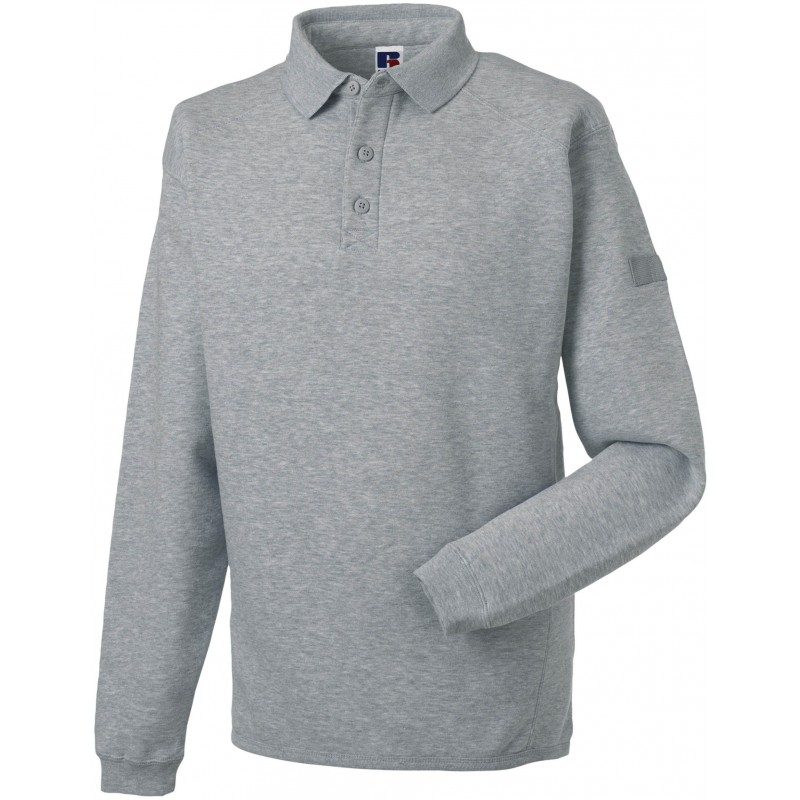 Sweat-shirt à col polo Workwear Russell - Sweat-shirt publicitaire - produits incentive