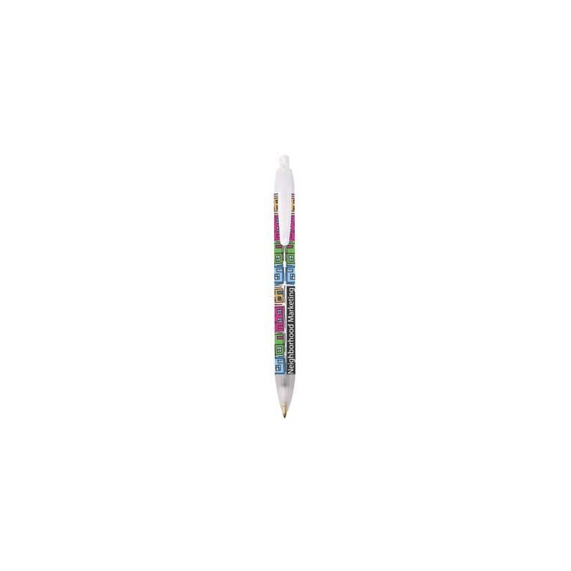 Stylo-bille Media Max Bic - Stylo plastique - objets publicitaires