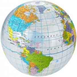 28-019 Ballon Globe petit modèle personnalisé