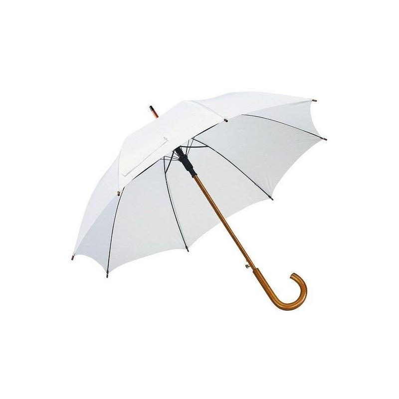 Parapluie automatique en bois - Parapluie demi-golf publicitaire publicitaire