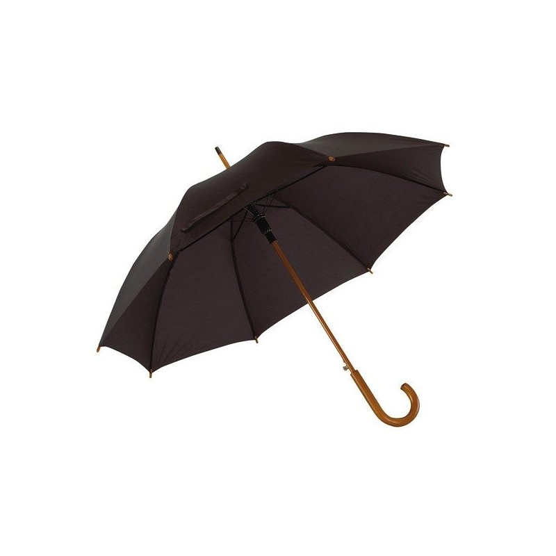 Parapluie automatique promotionnel en bois