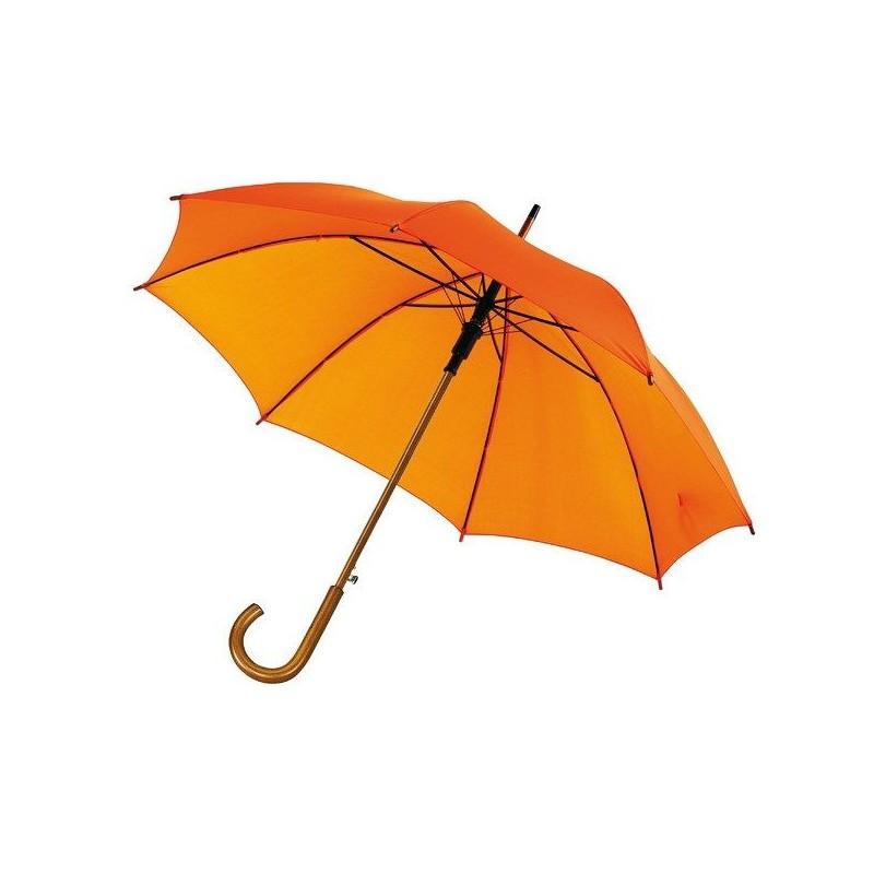 Parapluie automatique en bois - Parapluie demi-golf publicitaire sur mesure
