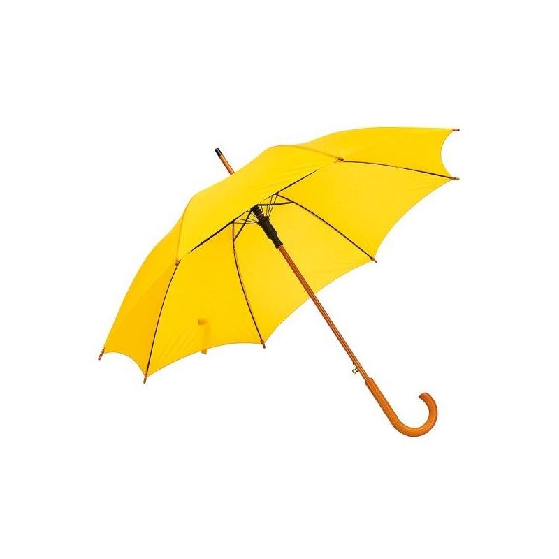 Parapluie automatique en bois - Parapluie demi-golf publicitaire - objets publicitaires