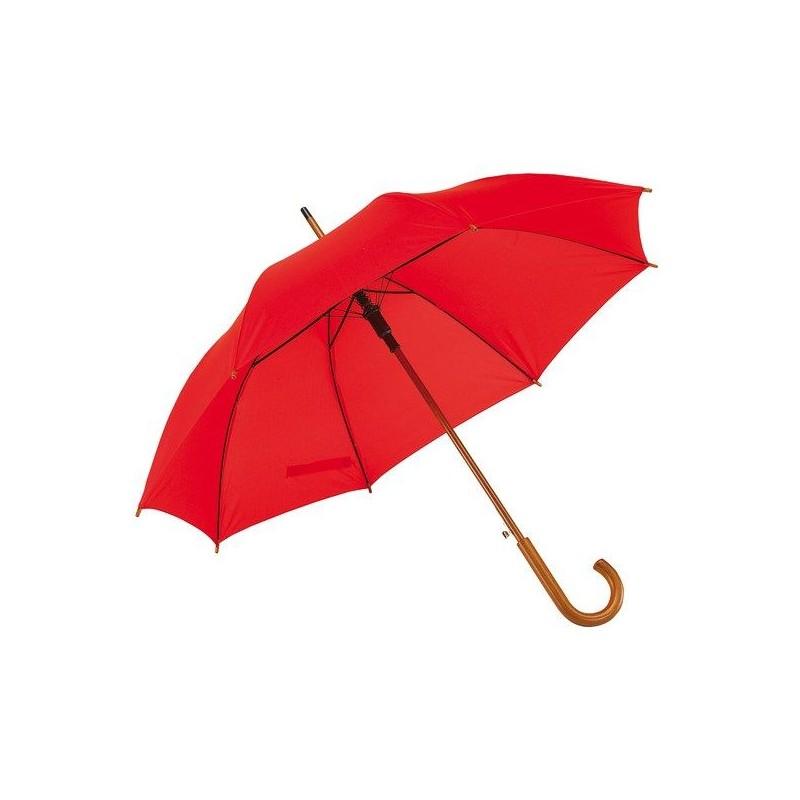 Parapluie automatique en bois - Parapluie demi-golf publicitaire - objets promotionnels