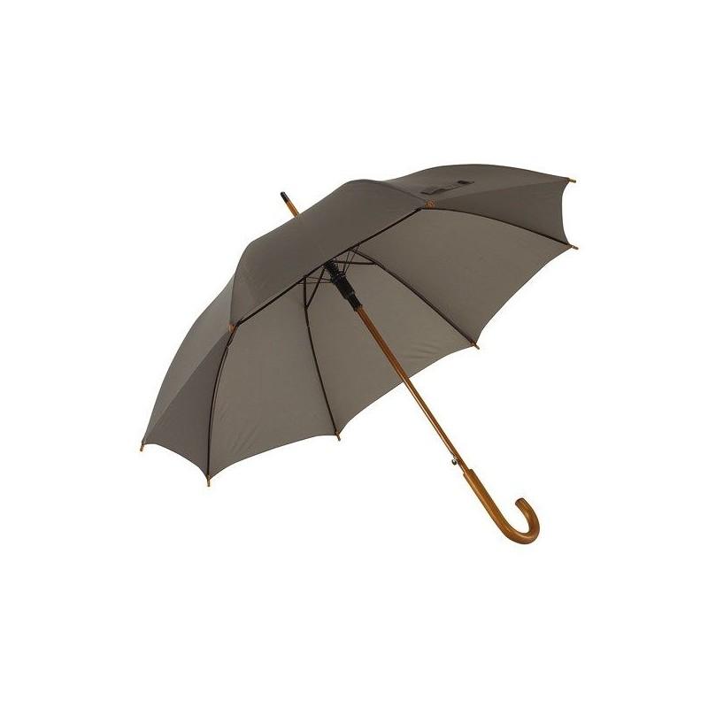Parapluie automatique en bois - Parapluie demi-golf publicitaire - cadeaux d'affaires