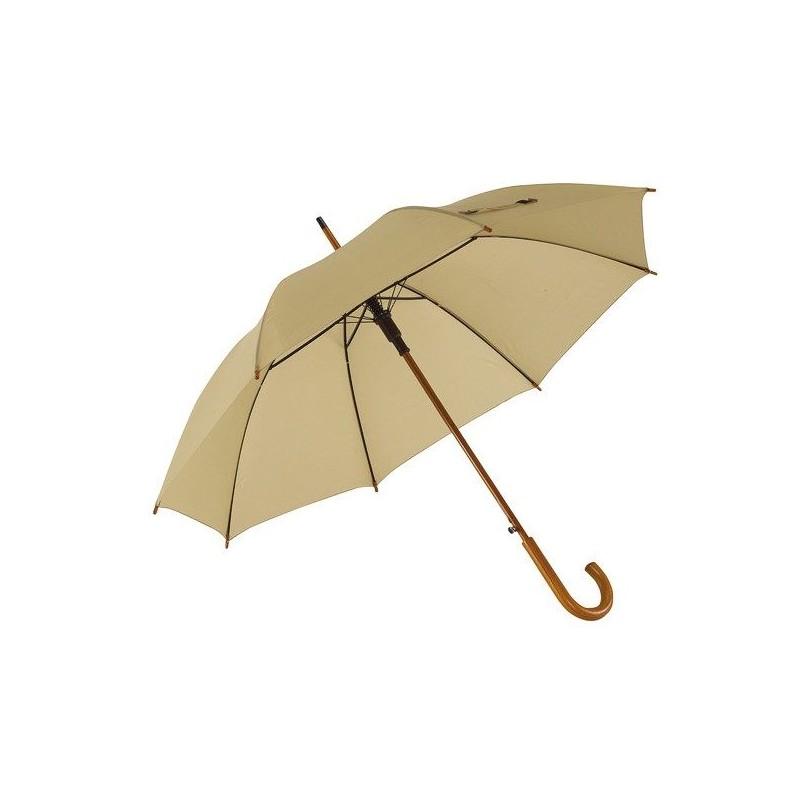Parapluie automatique en bois - Parapluie demi-golf publicitaire - produits incentive