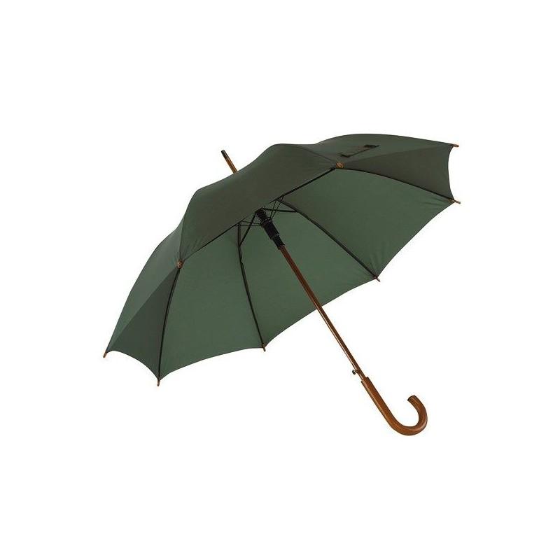 Parapluie automatique en bois - Parapluie demi-golf publicitaire - cadeau d'entreprise personnalisé