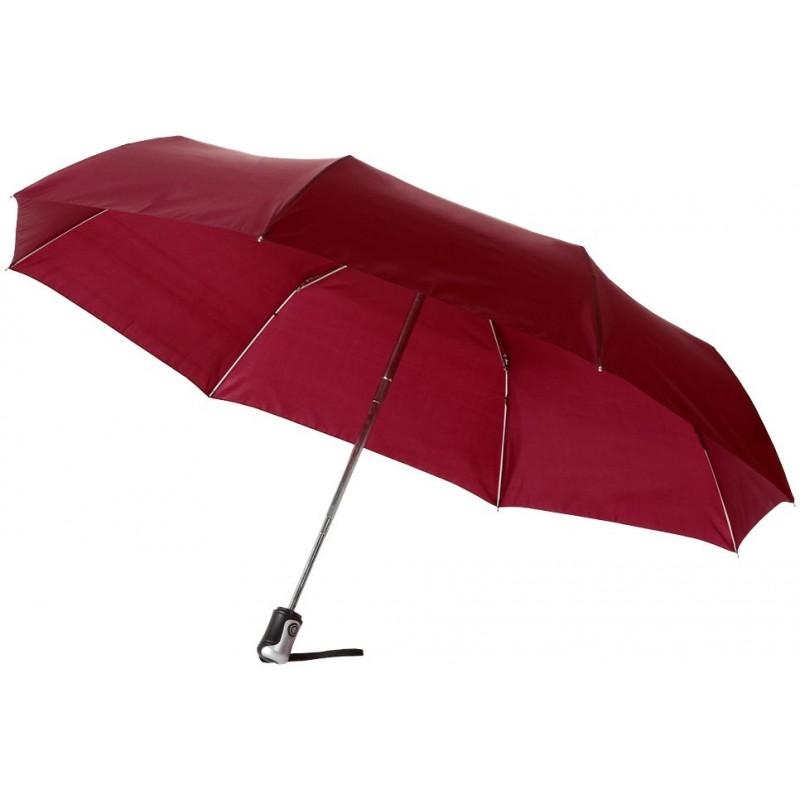Parapluie pliant automatique Sally - Parapluie pliant publicitaire sur mesure