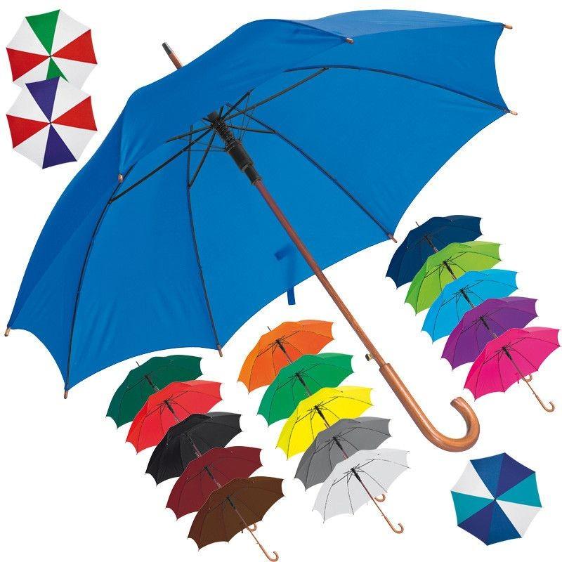 Parapluie automatique Megan - Parapluies spéciaux publicitaires sur mesure