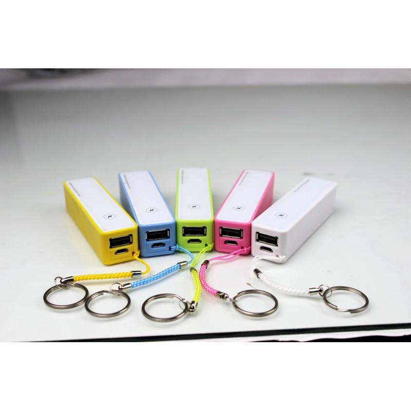 Batterie nomade rechargeable Power - Batterie externe - publicité par l'objet