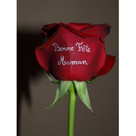 Roses personnalisables