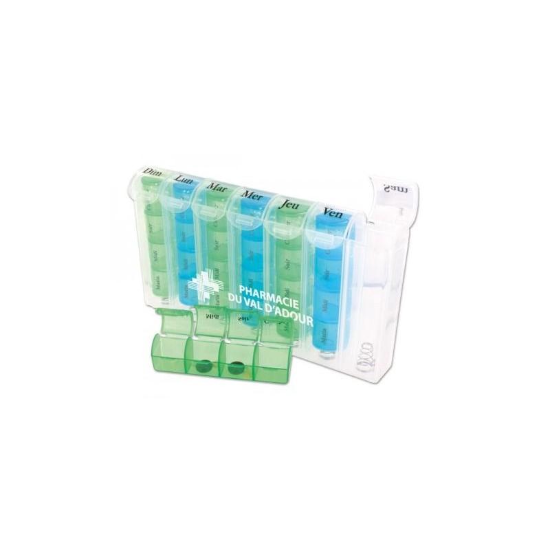 Boîte à pilules hebdo - Pilulier personnalisé