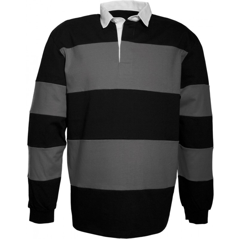 Polo rugby rayé - Polo rugby personnalisé