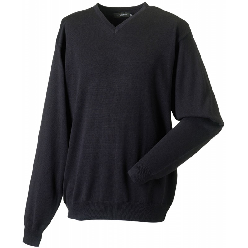 Pullover homme col V - Pull personnalisé