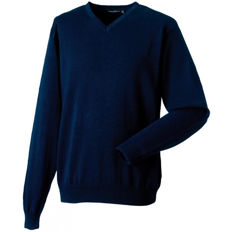 Pullover homme col V - Pull publicitaire