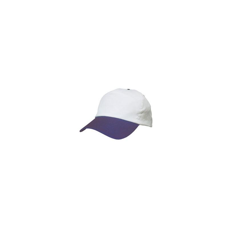 40-022 Casquette Baseball bicolore personnalisé