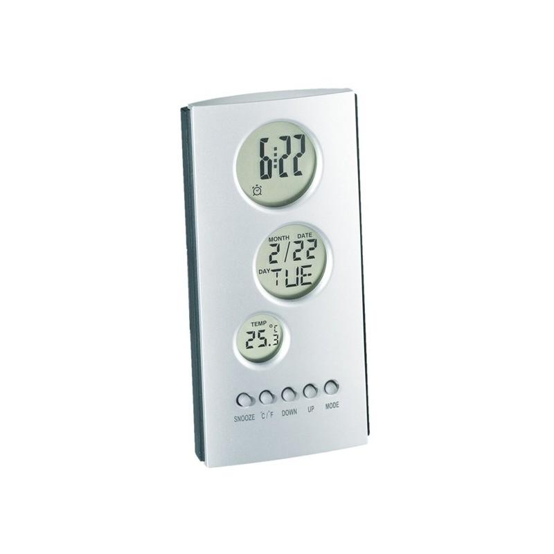 Réveil LCD TOWER - Réveil personnalisé
