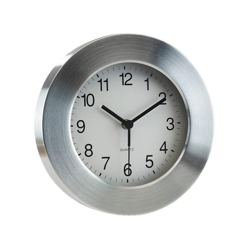 Pendule en aluminium - Horloge murale personnalisé