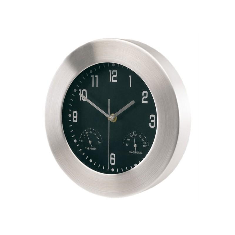 Pendule en aluminium Jupiter - Horloge murale personnalisé