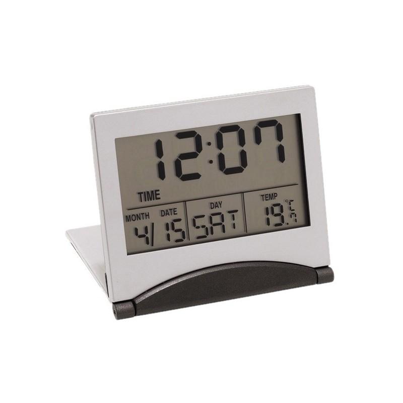 Réveil de voyage LCD Aster - Réveil personnalisé