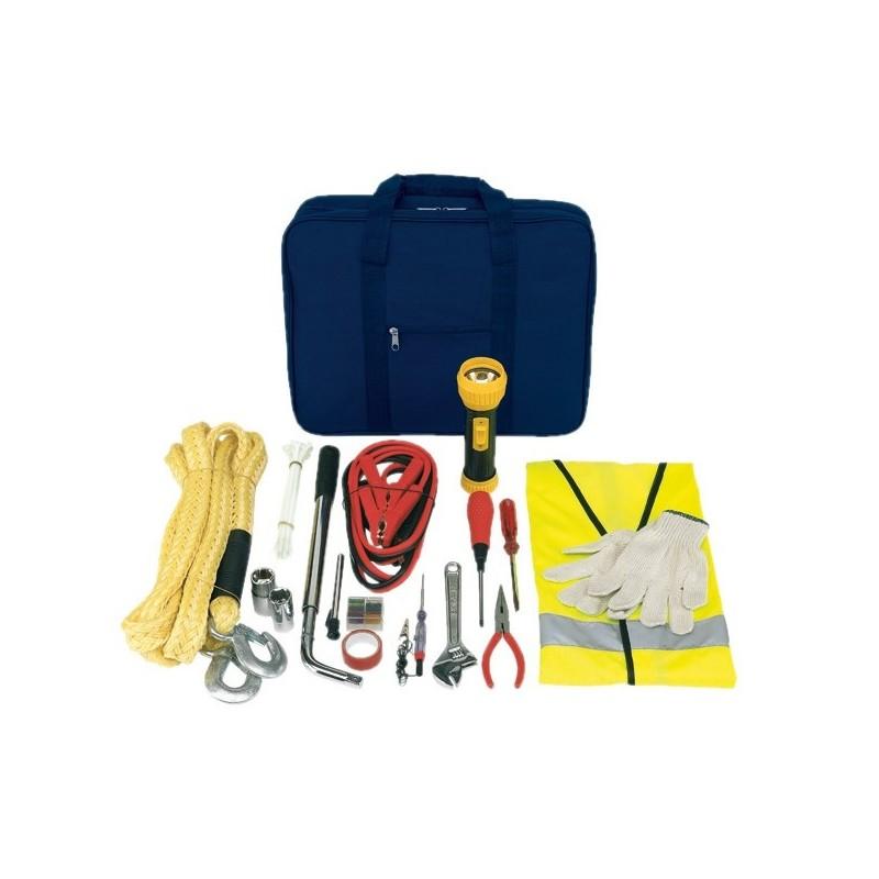 Kit pour la voiture - Trousse de secours personnalisé