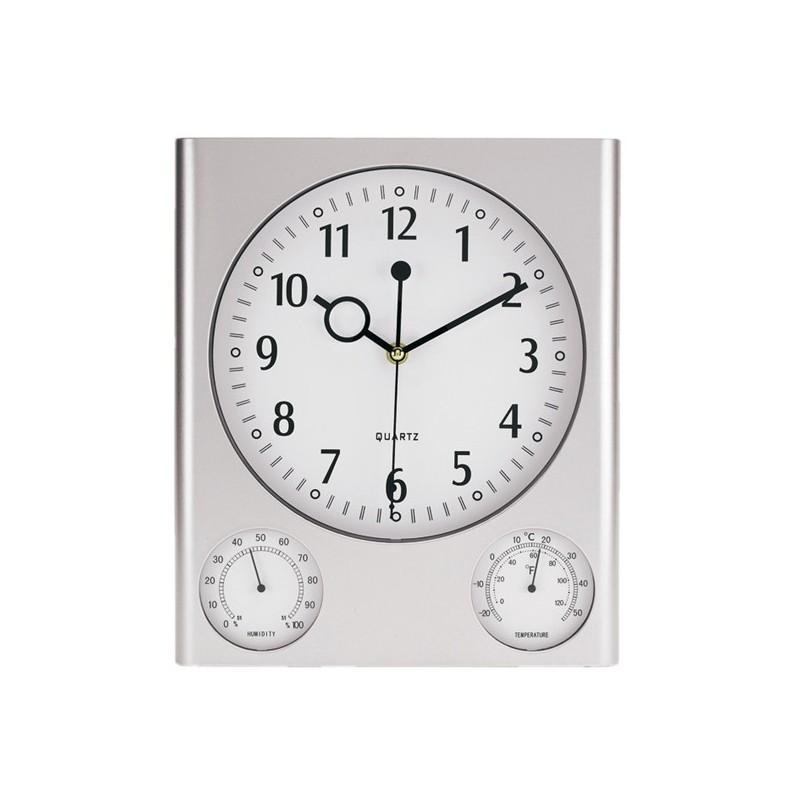 Pendule rectangulaire - Pendule de bureau publicitaire