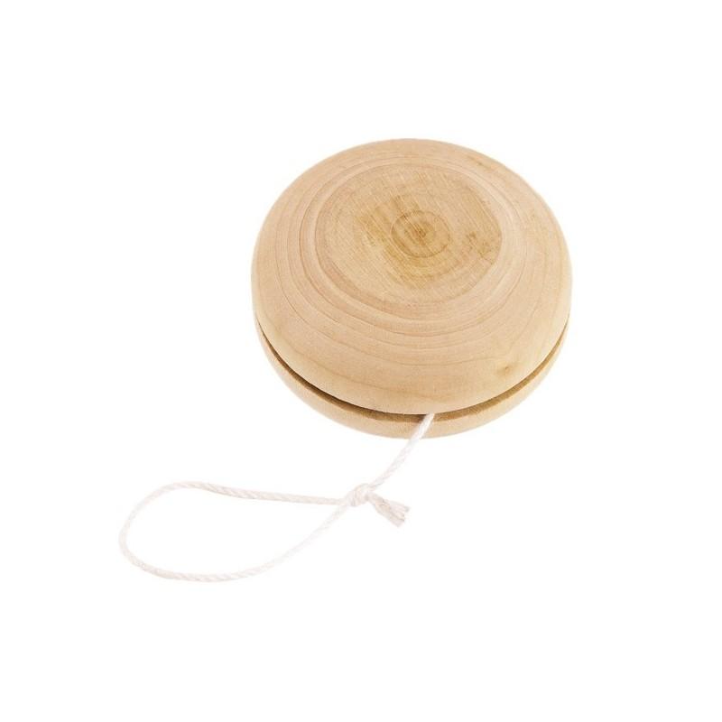 Yoyo en bois naturel - Yoyo personnalisé