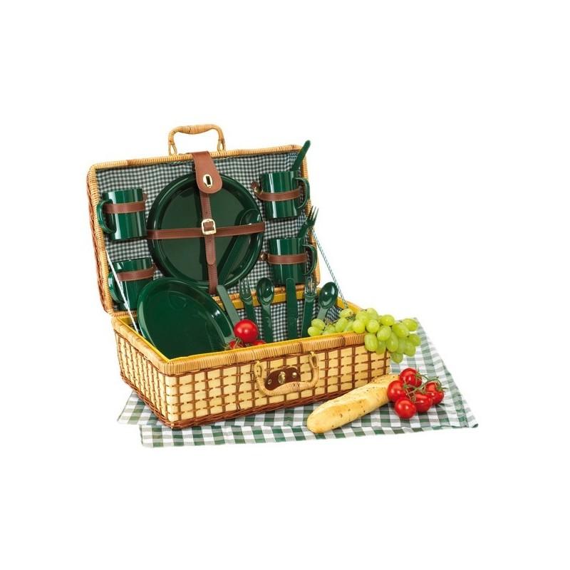Panier pique-nique GREEN PARK - Panier de pique-nique personnalisé
