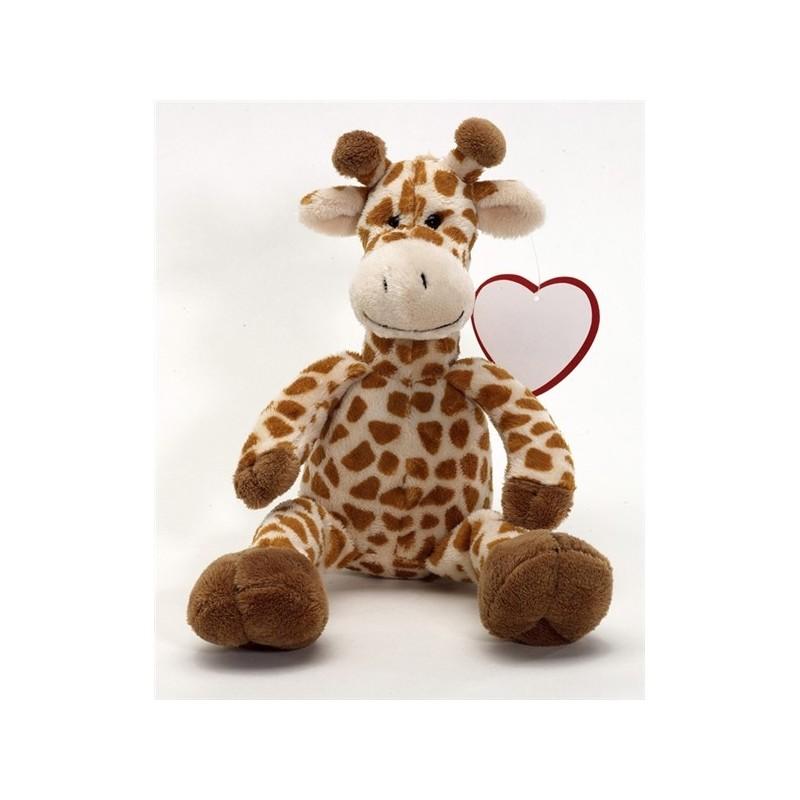Peluche girafe Maurice - Peluches personnalisé
