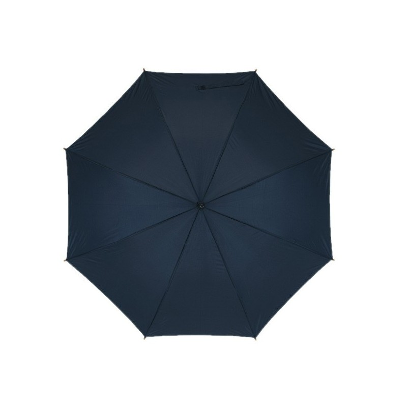 Parapluie automatique en bois - Parapluie demi-golf publicitaire personnalisé