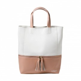 Sac shopping Pompadour Rose