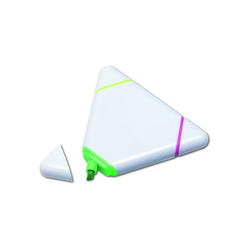 Surligneur triangulaire - Surligneur et feutre - objets publicitaires