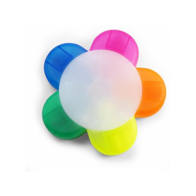 Surligneur publicitaire 5 couleurs - Surligneur et feutre - objets publicitaires