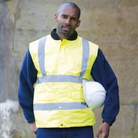 Bodywarmer High visibility RTY