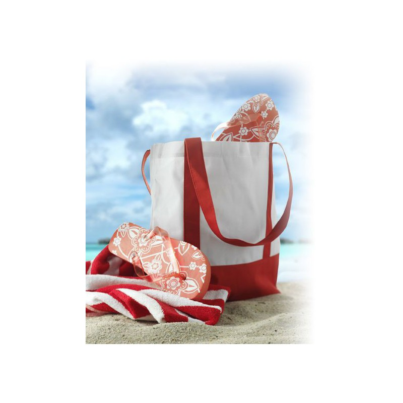 Sac Beach & Shopping - Sac de plage personnalisable personnalisé