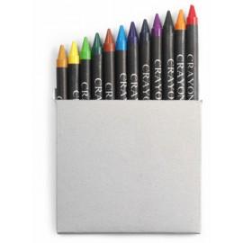 Crayons de couleur 12 pièces