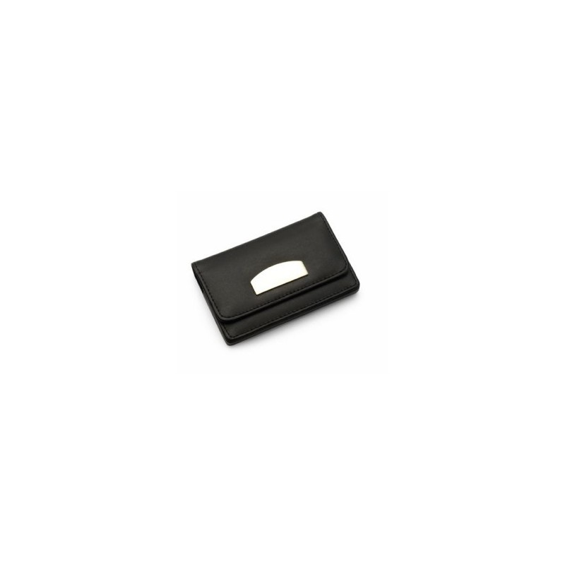 Porte cartes de visite fermeture magnétique - Porte-cartes de visite - objets publicitaires