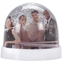 Presse-papiers photo Snow Globe GM