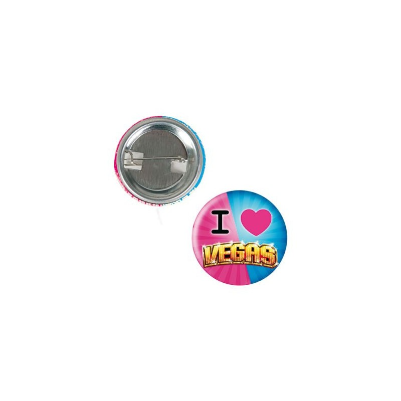 Badge Button Classic - Badge rond personnalisé