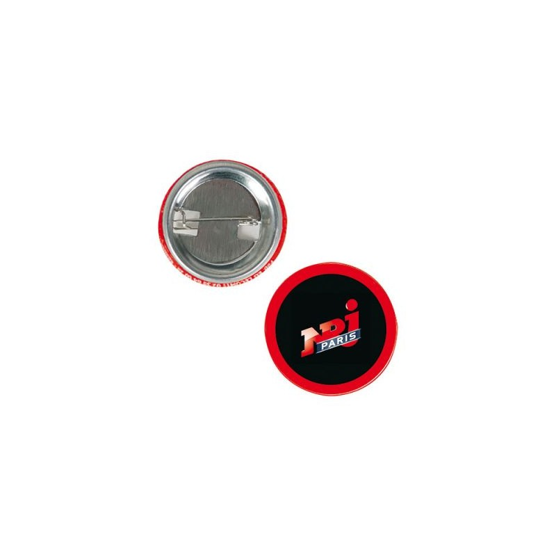 Badge Button Classic - Badge rond publicitaire