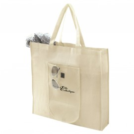 Sac shopping pliable non tissé