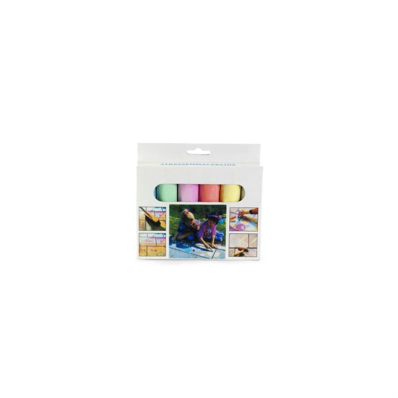Craies de couleur publicitaires  - Craies et crayons de cire personnalisé