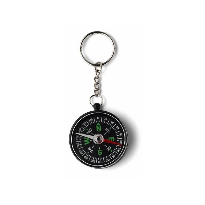 Porte-clés boussole - Boussole publicitaire