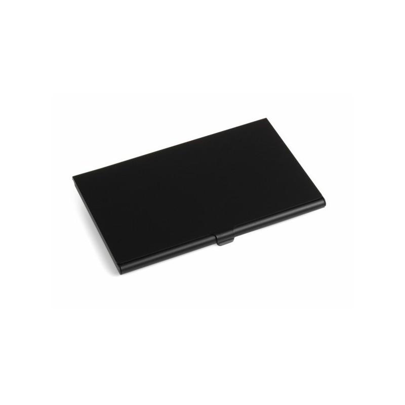 Porte-cartes de visite aluminium - Porte-cartes de visite personnalisé - objets publicitaires