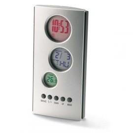 Pendule calendrier/thermomètre