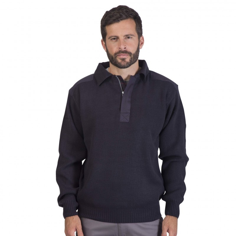 32-473 Pull-over col polo Worky personnalisé